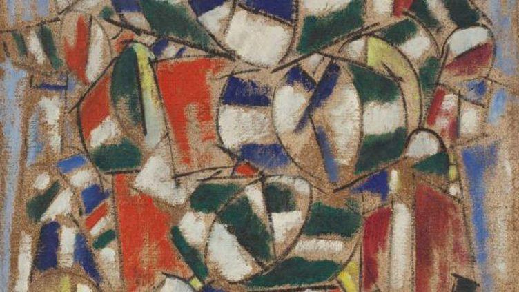 La toile de Fernand Léger douteuse qui s'est avérée fausse, selon des physiciens.  (Guggenheim Venice )