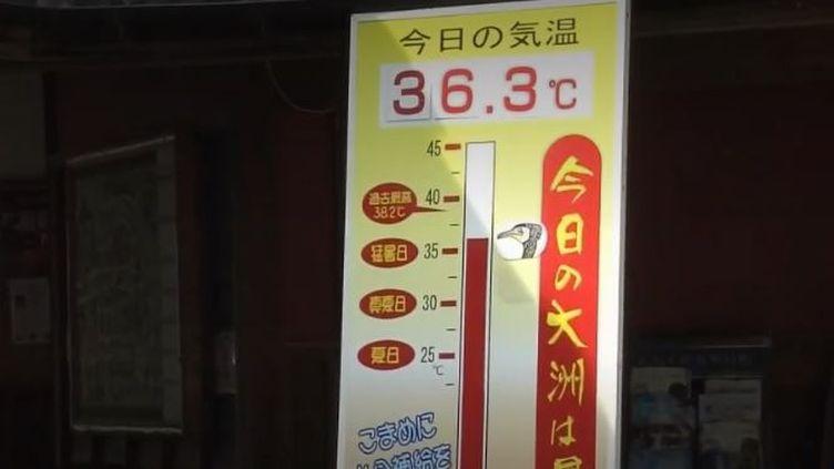 Japon : les canicules répétées pourraient impacter l'organisation des Jeux olympiques (FRANCE 2)