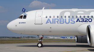 Un Airbus A320neo, le 25 septembre 2014, à Blagnac, près de Toulouse. (ERIC CABANIS / AFP)