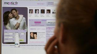 Le faux play-boy du web mettait de fausses informations sur lui sur les sites de rencontres qu'il fréquentait. (GABRIEL BOUYS / AFP)