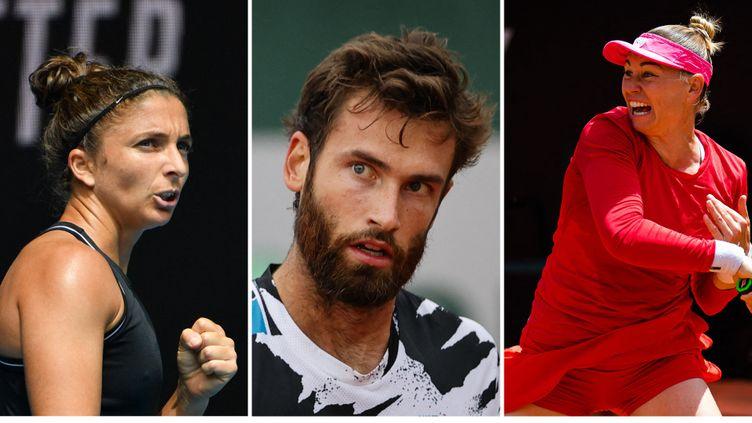 Sara Errani, Quentin Halys et Vera Zvonareva sont qualifiés pour le deuxième tour des qualifications de Roland-Garros. (AFP)