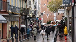 Les rues de Perpignan (Pyrénées-Orientales), le 28 novembre 2020 (CLEMENTZ MICHEL / MAXPPP)