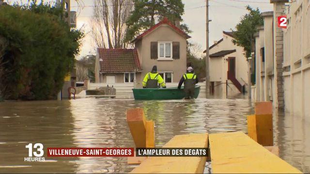 Inondations dans le Val-de-Marne : l'ampleur des dégâts à Villeneuve-Saint-Georges