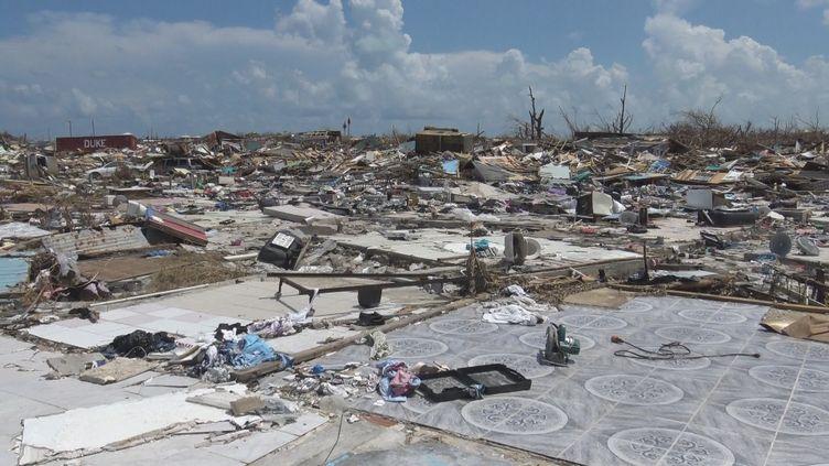 Le quartier haïtien de Marsh Harbour, sur l'île d'Abaco (Bahamas) (GILLES GALLINARO / RADIO FRANCE)