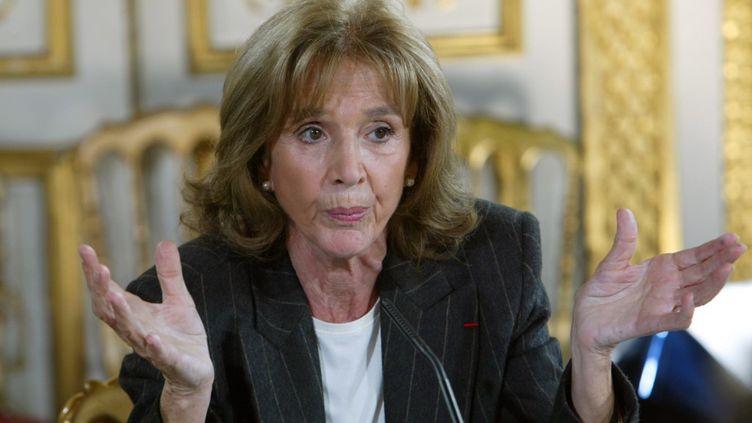 L'avocate Gisèle Halimi, le 14 novembre 2003 à Paris. (JACK GUEZ / AFP)
