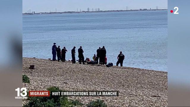 Angleterre : 75 migrants interceptés après avoir traversé la Manche sur des embarcations