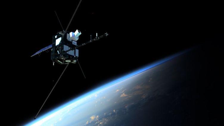 Une modélisation 3D du satellite Taranis, perdu lors de son lancement le 17 novembre 2020. (CENTRE NATIONAL D'ETUDES SPATIALES)