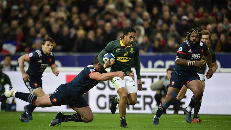 Le XV de France chute encore face à l'Afrique du Sud