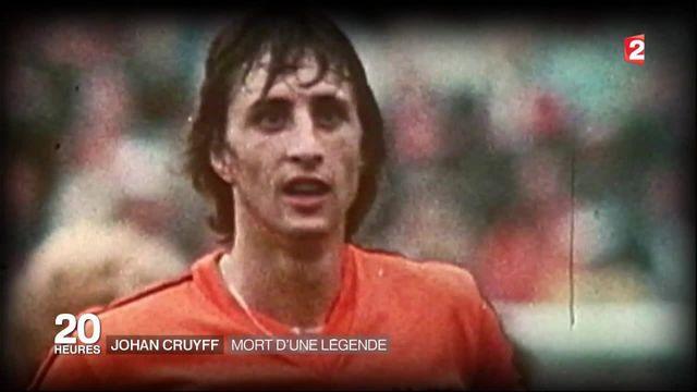 Johan Cruyff, une légende du foot a disparu