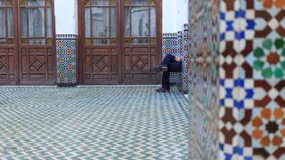 Portes ouvertes à la Grande mosquée de Paris, le 9 janvier 2016. (MAXPPP)