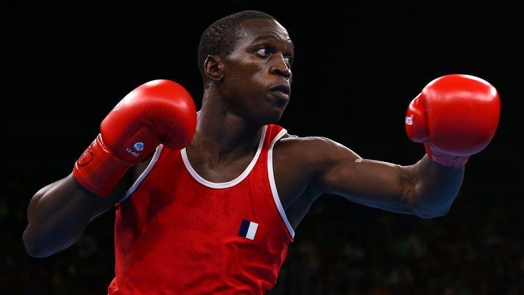 Souleymane Cissokho, l'un des héros de la boxe française à Rio. (? PETER CZIBORRA / REUTERS / X03812)