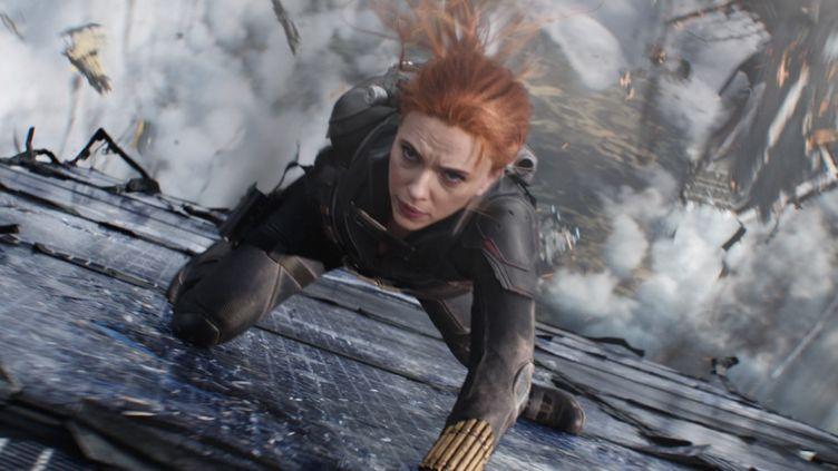 """Scarlett Johansson dans """"Black Widow"""" deCate Shortland (2021). (MARVEL STUDIOS)"""