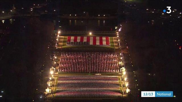 A Washington, ambiance tendue avant la cérémonie d'investiture