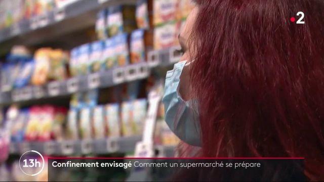 Hypothèse d'un troisième confinement : les supermarchés se préparent