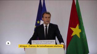 Afrique-France : depuis le début de son quinquennat, Emmanuel Macron multiplie les gestes symboliques (FRANCEINFO)