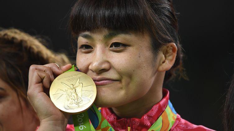 4ème médaille d'or olympique pour Kaori Icho (TOSHIFUMI KITAMURA / AFP)