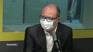 Frédéric Daruty, président de20 Minutes. (FRANCEINFO / RADIO FRANCE)