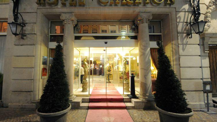 L'hôtel Carlton de Lille (Nord). (DENIS CHARLET / AFP)