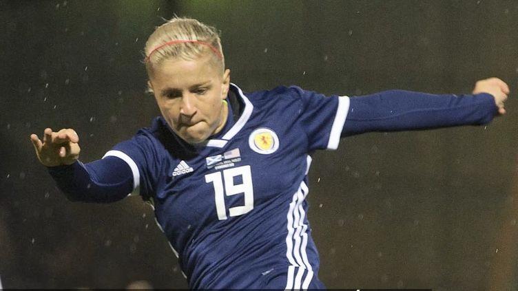 L'attaquante écossaiseLana Clelland. (CAPTURE D'ÉCRAN)