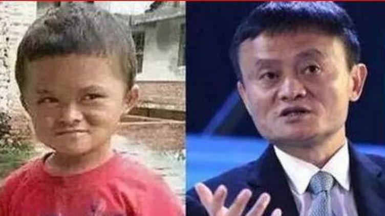 Mini Jack Ma et Jack Ma (Capture d'écran/FTV)