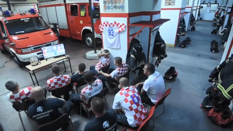 Capture d'écran d'une vidéo postée par les pompiers de Zagreb (Croatie), le 11 juillet 2017. (FACEBOOK)