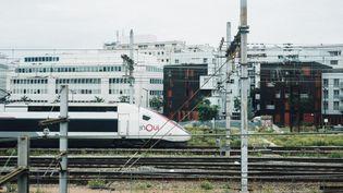La gare de Lyon à Paris, le 18 août 2021. (DELPHINE LEFEBVRE / HANS LUCAS / AFP)
