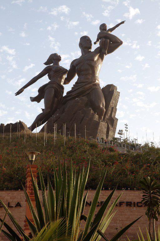 Le Monument de la renaissance africaine à Dakar (Sénégal) (AFP - Nicolas Thibaut - Photononstop)