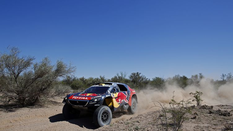 Stéphane Peterhansel a remporté le 12e Dakar de sa carrière (FREDERIC LE FLOC H / DPPI MEDIA)