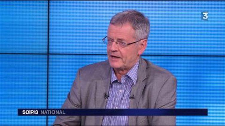 Pascal Boniface, directeur de l'Institut des relations internationales et stratégiques (Iris). (FRANCE 3)