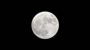 La Lune, planète satellite de la Terre. Image d'illustration (FREDERIC J. BROWN / AFP)