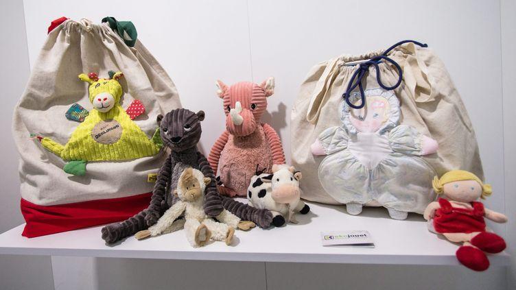 """Salon """"Jouer francais"""". Ekojouet, collecte expérimentale pour une filière de recyclage des jouets, le 6 novembre 2019. Photo d'illustration. (MAXPPP)"""