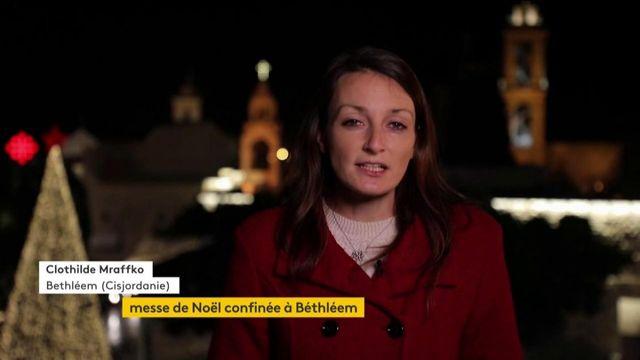 Noël : à Bethléem, une messe dans une ambiance singulière