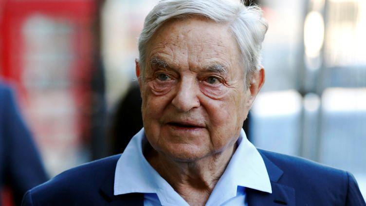 George Soros, le 20 juin 2016 à Londres (Grande-Bretagne). (LUKE MACGREGOR / REUTERS)