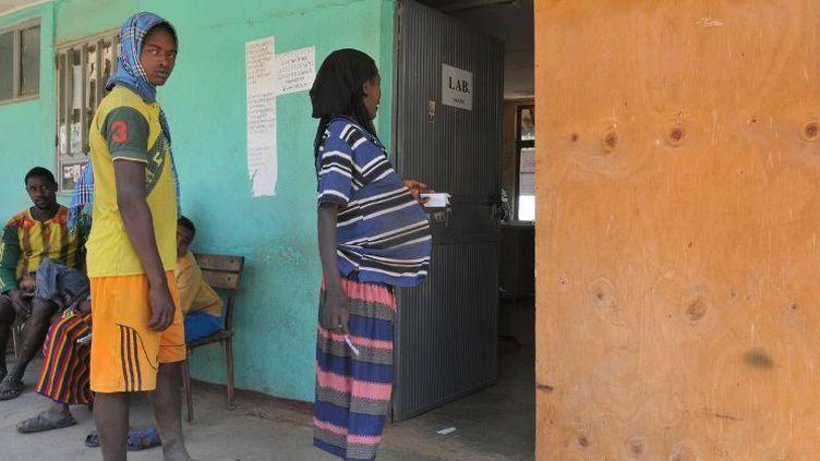 Consultation dans un hôpital en Ethiopie (BERAUD / BSIP)
