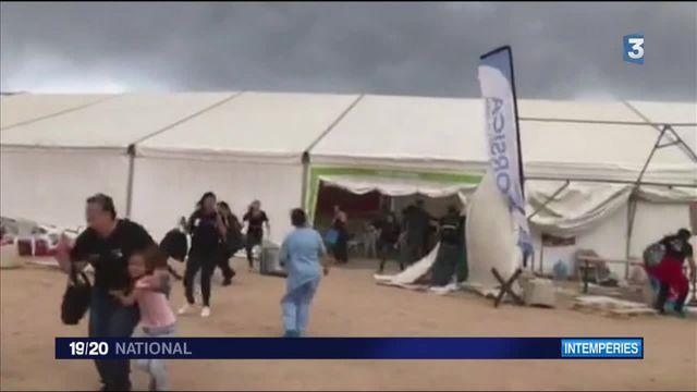 Corse : coup de vent violent à Ajaccio