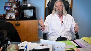 Le professeur Didier Raoult,directeur de l'IHU Méditerranée Infection. (GERARD JULIEN / AFP)