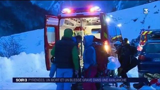 Pyrénées-Atlantiques : un mort et un blessé grave dans une avalanche