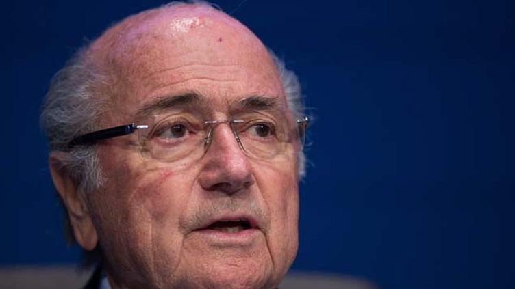 (Sepp Blatter a voté pour les Etats-Unis concernant l'attribution de la Coupe du monde 2022 et accuse Nicolas Sarkozy d'avoir influencé le vote en faveur du Qatar © MaxPPP)