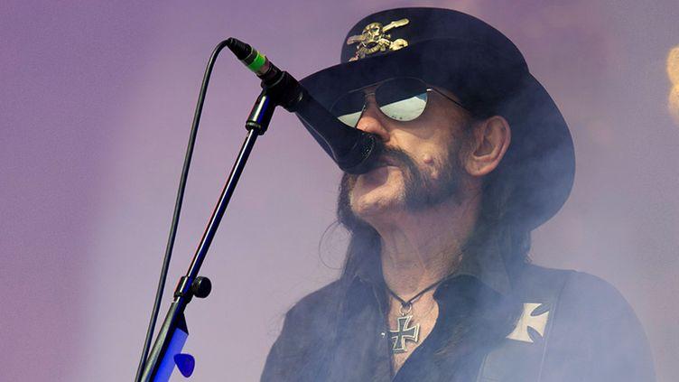 Lemmy, le leader du groupe Motörhead  (OLI SCARFF / AFP)