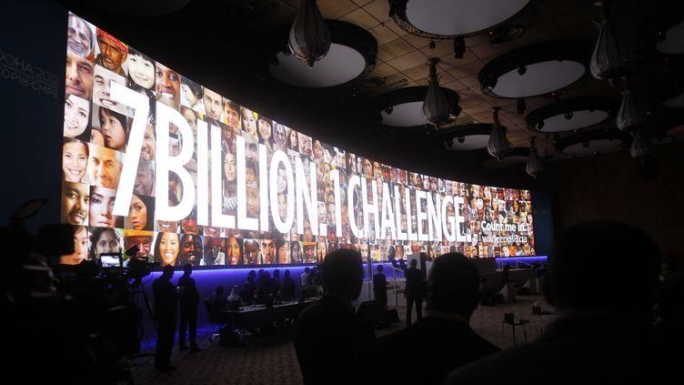 La 18e conférence des Nations unies sur le changement climatique s'est ouverte le 26 novembre 2012 à Doha (Qatar). (MOHAMMED DABBOUS / REUTERS)