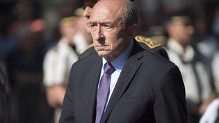 Le ministre de l'Intérieur, Gérard Collomb, le 14 juillet 2017 à Paris. (ROMAIN LAFABREGUE / AFP)