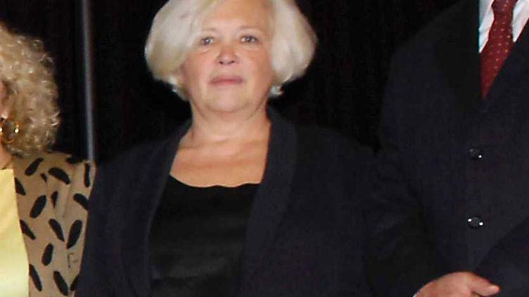 La journaliste Marie-Françoise Leclère, au jury du Festival Simenon aux Sables-d'Olonne, le 25 septembre 2007 (BALTEL / SIPA)