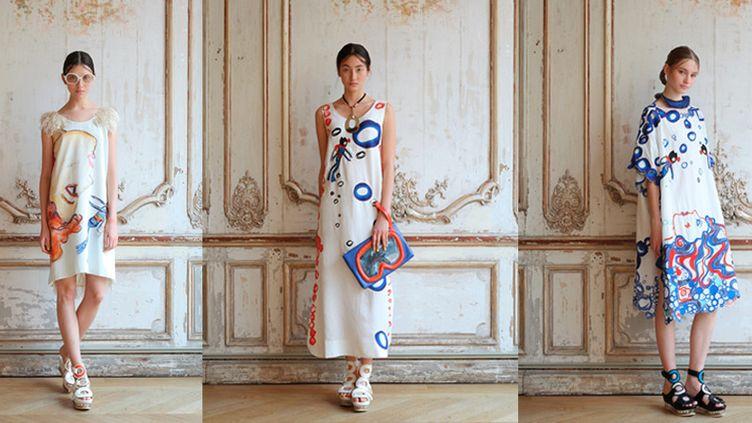 Tsumori Chisato pap féminin pe 16, à Paris  (Masaru Mizushima)