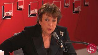 La ministre de la Culture Roselyne Bachelot, sur France Inter, lundi 18 octobre 2021 (FRANCE INTER / RADIO FRANCE)