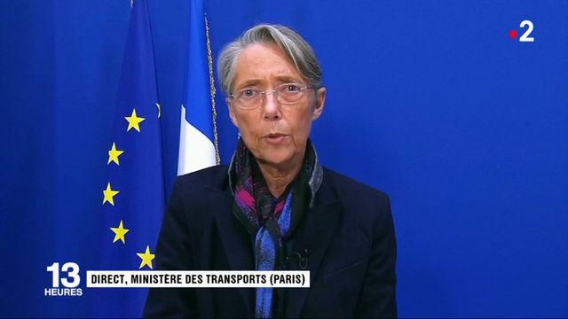 """Neige : """"Les services de l'Etat ont été très mobilisés"""", assure Élisabeth Borne"""