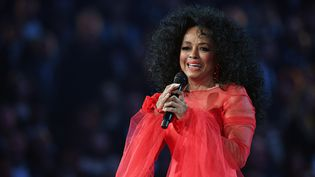 Diana Ross le 10 février 2019 à Los Angeles, à la cérémonie des Grammy Awards (ROBYN BECK / AFP)