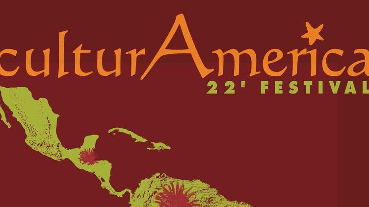 Extrait de l'affiche du Festival CulturAmerica  (DR)