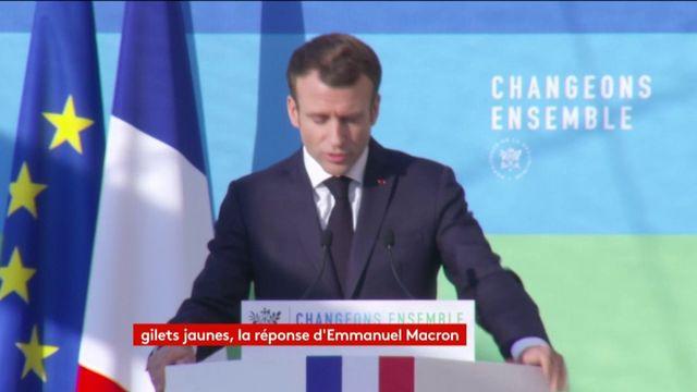 """Macron : """"Nous avons tous notre part de responsabilité"""""""