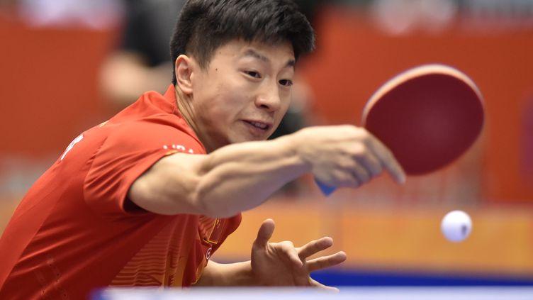 Ma Long, numéro un mondial. (KAZUHIRO NOGI / AFP)