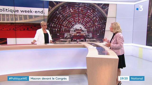 Politique : Macron devant le Congrès